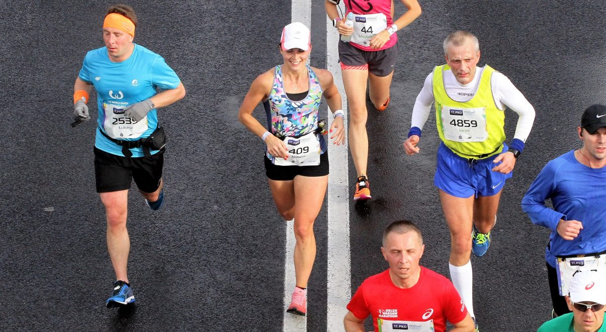 pierwszy maraton trening