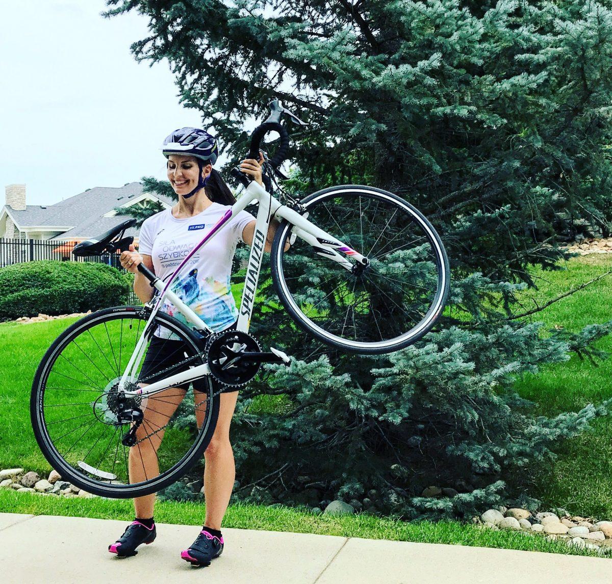 pierwszy rower szosowy triathlon