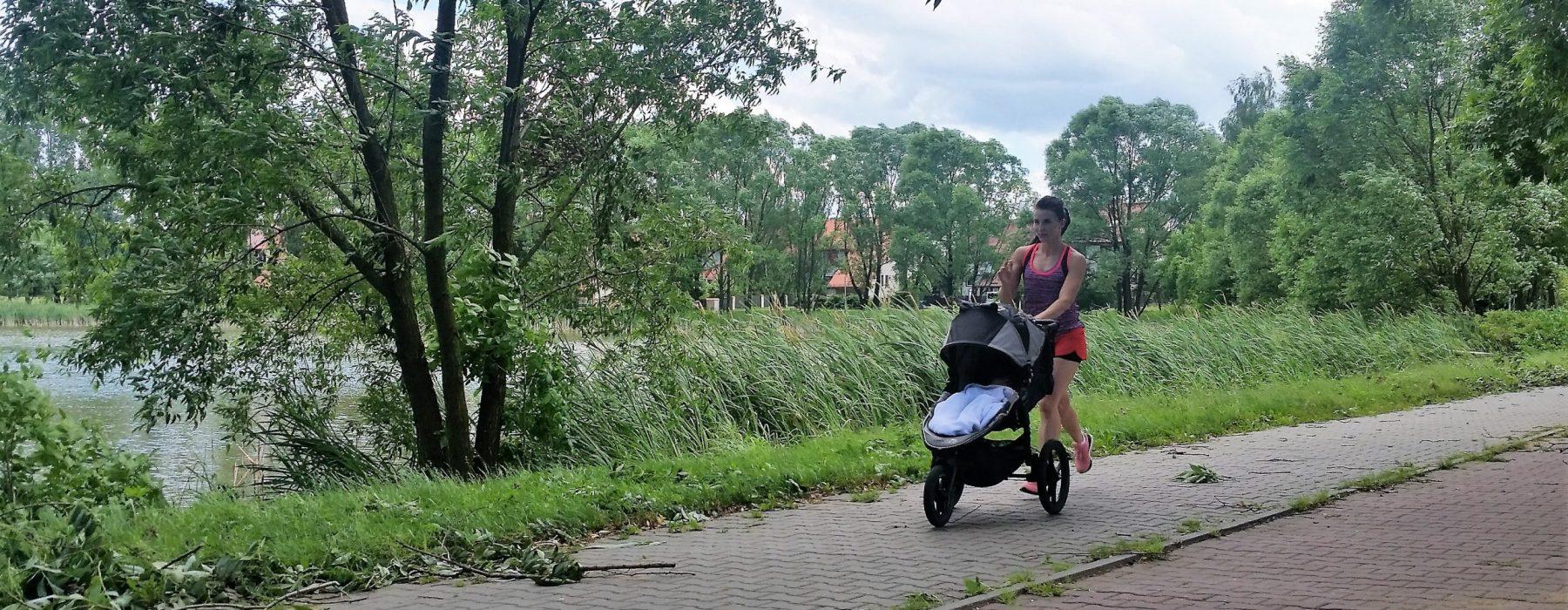 jak wybrać wózek do biegania