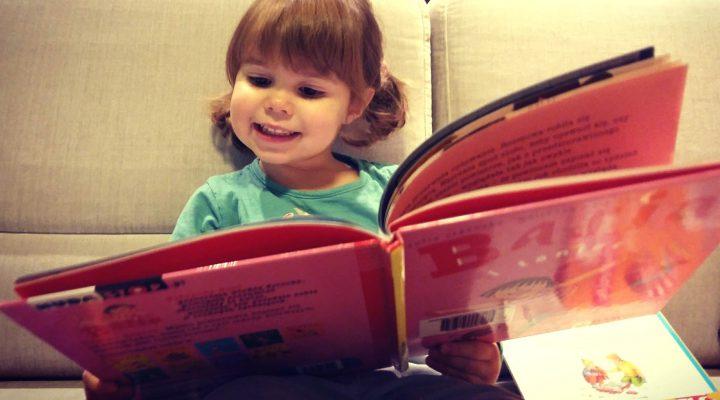 KSIĄŻKI LISTOPADA – co czytała mała, co czytałam ja?