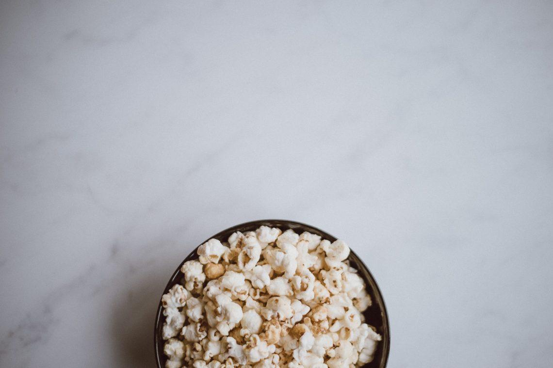 zajadanie emocji, popcorn