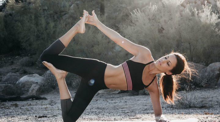 ćwiczenie na brzuch